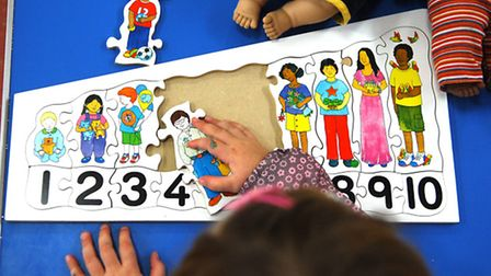 Funding for Norfolk's Sure Start centres is being cut.