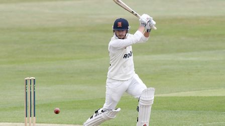Jaik Mickleburgh in County Championship action for Essex. Picture: Nick Wood