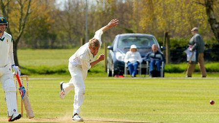 Olly Stone, pictured in action for Norfolk recently in a victory over Lincolnshire in the Unicorns K