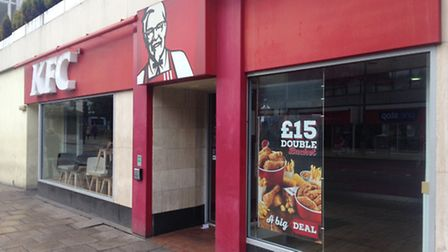 The KFC branch on Prince of Wales Road in Norwich shut in April.