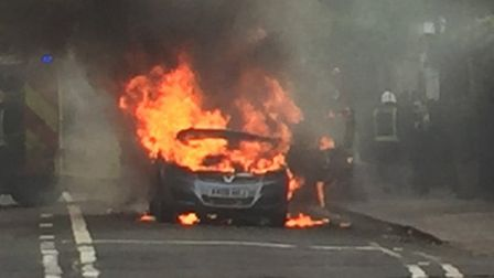 """Vauxhall is recalling Zafiras again for """"preventative action"""" over a fire risk."""