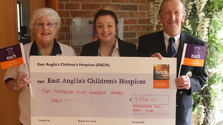 Members of the Wymondham Dell Bowls Club have been pulling together to support a worthy cause this y