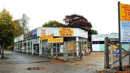 The site on Aylsham Road in Norwich. Photo: Bill Smith