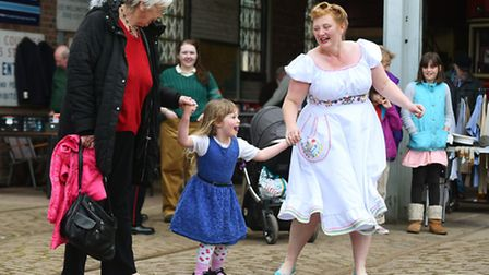 Visitors to The East Anglia Transport Museum enjoyed live music on both days. Picture: James Bass