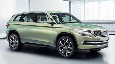 Skoda VisionS concept car gives an insight into the new sport utility vehicle which will be called K