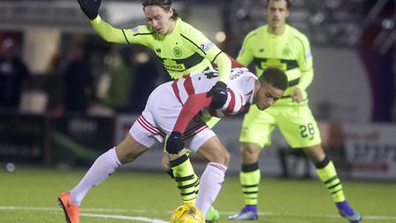 Norwich City's on-loan striker Carlton Morris has been a hit at Hamilton Academical in the Scottish