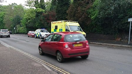 Man in his teens was hit by a car, outside Norwich City College, on Ipswich Road