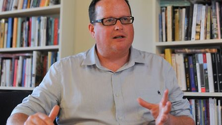 Writers' Centre Norwich chief executive Chris Gribble. Photo: Bill Smith.