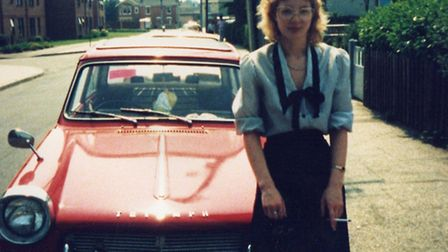 Sue Wood bought her first car, a Triumph Herald, in 1986 but a blown engine heralded the end of owne