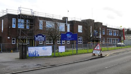 Cromer Academy was in shock this week. Picture: MARK BULLIMORE