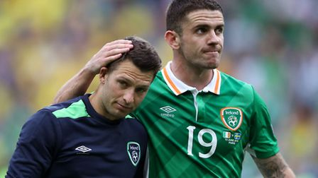 Norwich City's Republic of Ireland duo Wes Hoolahan and Robert Brady were impressive in the 1-1 Grou