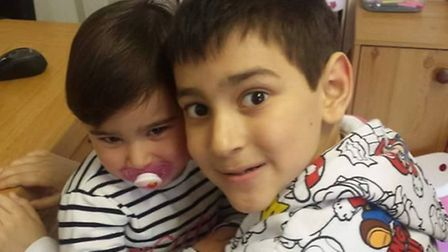 Lucas Pontes, 8, from Great Yarmouth was diagnosed with a brain tumour in April 2015. Now his family