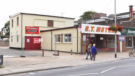 The former GT Motors site on the High Street in Gorleston.Picture: James Bass