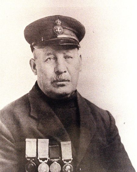 (6of6) Copy pic of William Flemming .. Pic for Coxswain, Tracey Flanders story. Nick Butcher