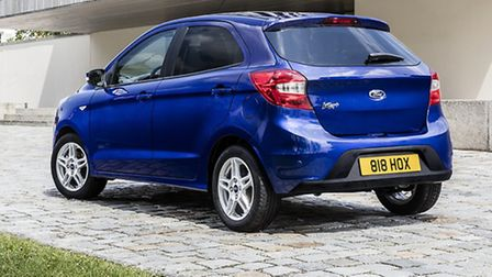 Ford's all-new five-door Ka+ city car is compact outside but big inside.