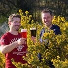 Wildcraft has been set up by Mark Goodman and Mike Deal(right) focusing on making beers from forage