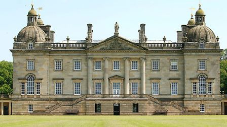 Houghton Hall, the venue for the gala dinner