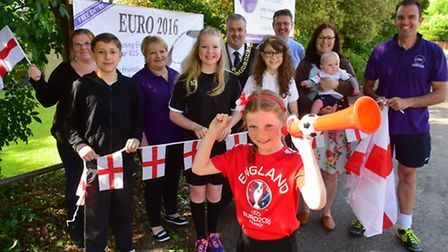 London Road Baptist Church is hosting the England evening matches at Euro 2016. PHOTO: Nick Butcher