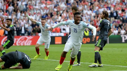 England's Daniel Sturridge salvages a stoppage time win for the Three Lions to sink Euro 2016 rivals