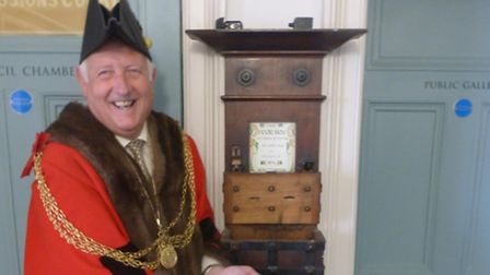 Mayor Malcolm Birds charity fundraising efforts have received a welcome boost from the past after h