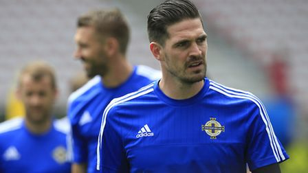 Northern Ireland's Kyle Lafferty knows his country must up the ante in Thursday second Euro 2016 gam