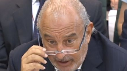 Sir Philip Green gives evidence to the Business, Innovation and Skills Committee and Work and Pensio