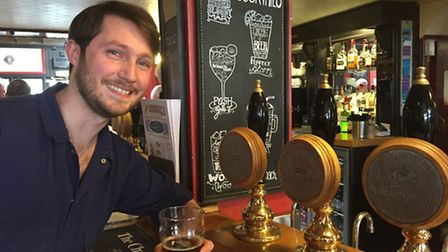 Robbie Wincup, new head brewer at Chalk Hill Brewery. Picture: Submitted