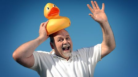 Ali Dent is adding a giant duck race to the Hilay Raft Race event on the 13th July. Picture: Matthew