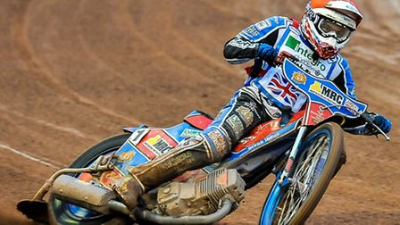 Robert Lambert in action during the Belle Vue showcase. Picture: IAN CHARLES