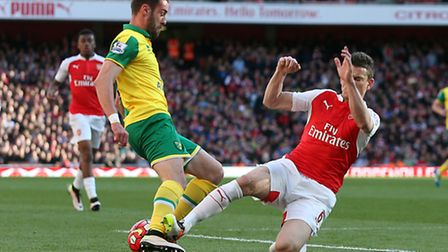 Ivo Pinto looked to be more at ease in English football towards the end of Norwich City's Premier Le