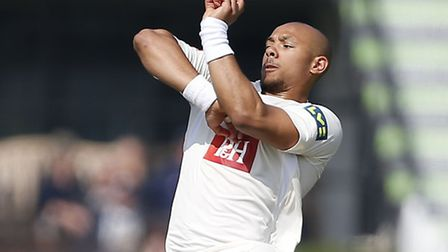 Tymal Mills in action for Sussex. Picture: Sussex CCC