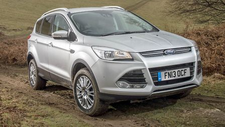 A much higher proportion of people search Motors.co.uk for a used Ford Kuga in East Anglia than nati