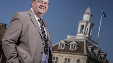 Leader of the Borough Council of King's Lynn and West Norfolk Brian Long. Picture: Matthew Usher.