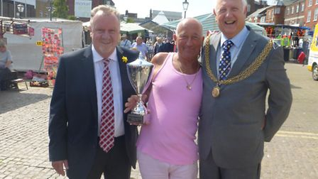 A stalwart who has been at the heart of Great Yarmouth Market for nearly 40 years has been honoured