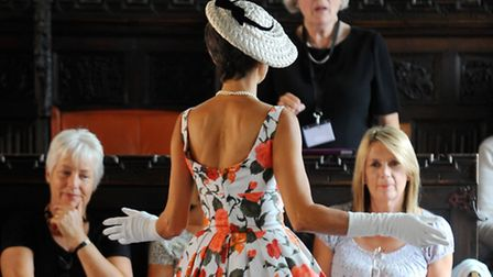 Putting everything on show just isn't classy says our columnist, unlike this elegant dress. Photo :