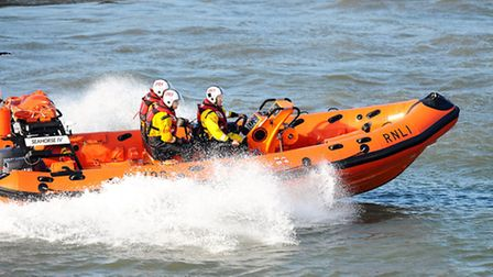 A lifeboat was called out. Picture: James Bass
