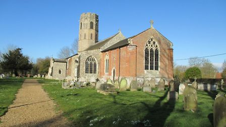 The church of St Margaret in Topcroft.