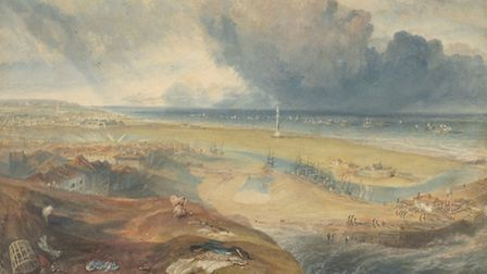 Great Yarmouth, Norfolk, with Nelson's Column, by Joseph Mallord William Turner. Picture: Christie's