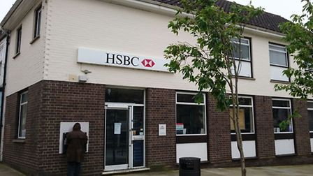 HSBC Bank in Downham Market to close in August.