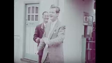 Benny Hill in Great Yarmouth, 1950s. Photo: YouTube/gypbrc