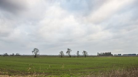A view over Ongar Hill, Terrington St Clement, near one of the wind turbine sites. Picture: Matthew