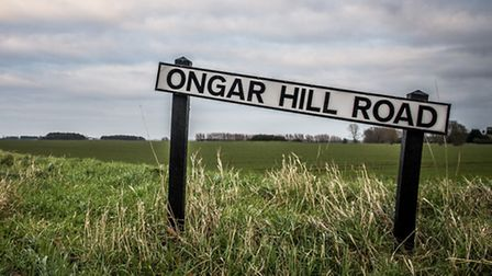 A view over Ongar Hill Road, Terrington St Clements, near one of the wind turbine sites. Picture: Ma