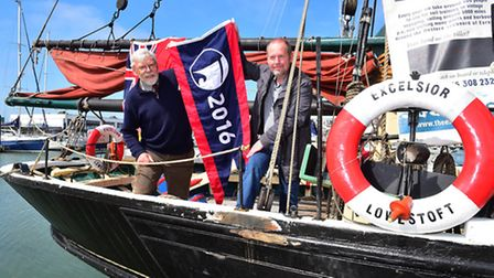 Historic ship the Excelsior has been awarded the National Historic Ship Flagship of the year award f