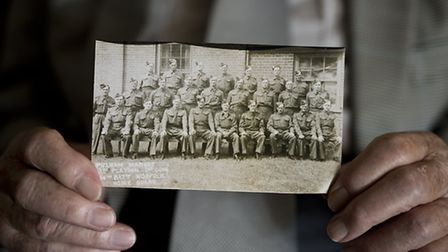Peter Blackburn was a member of Pulham Market's Home Guard. Picture: Submitted.