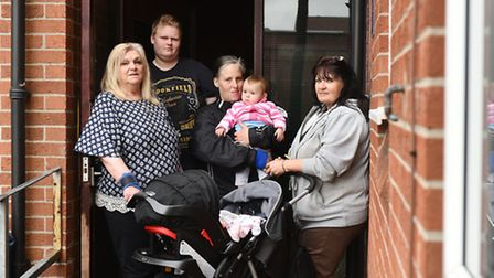 Residents at Falcon Court, Great Yarmouth are complaining about the councils behaviour.Shirley Brigh