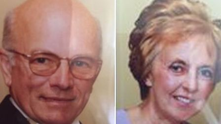 Peter and Sylvia Stuart, who are missing from Weybread