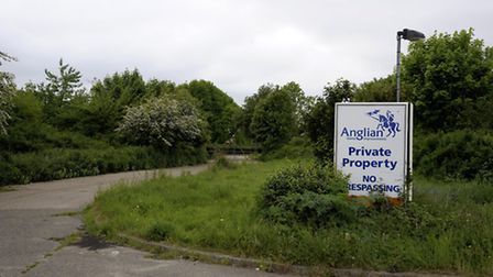 The Anglian Windows site off Holt Road, Norwich which could be turned into a new sports village. Pic