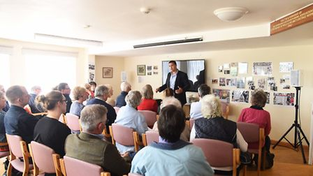 A meeting was held at Wells Community Hospital to combat dementia. Picture: Ian Burt