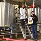 Wolf Brewery near Besthorpe launch their new beer to coincide with the Queen's Birthday, called Norf