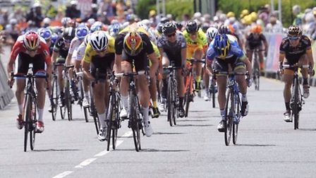 The Aviva Women's Tour pictured in Clacton-on-Sea.